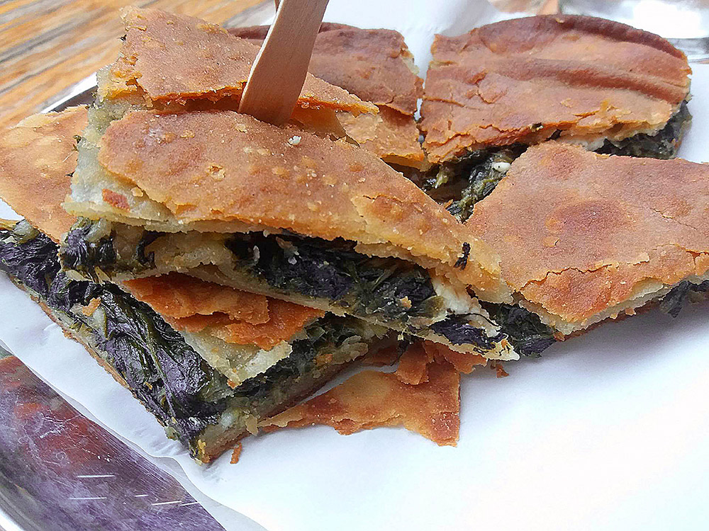 Food around Athens Spanakopita